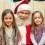 Encontrando Papai Noel no Santa's Storybook Experience