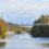 A ponte suspensa do Ferris Provincial Park